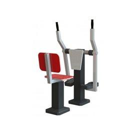 Sammenleggbare bord og stoler for uteservering sett a ett bord og fire stoler, stol nr 1